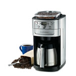 Cuisinart's new Grind & Brew coffeemaker fits in a more compact space.