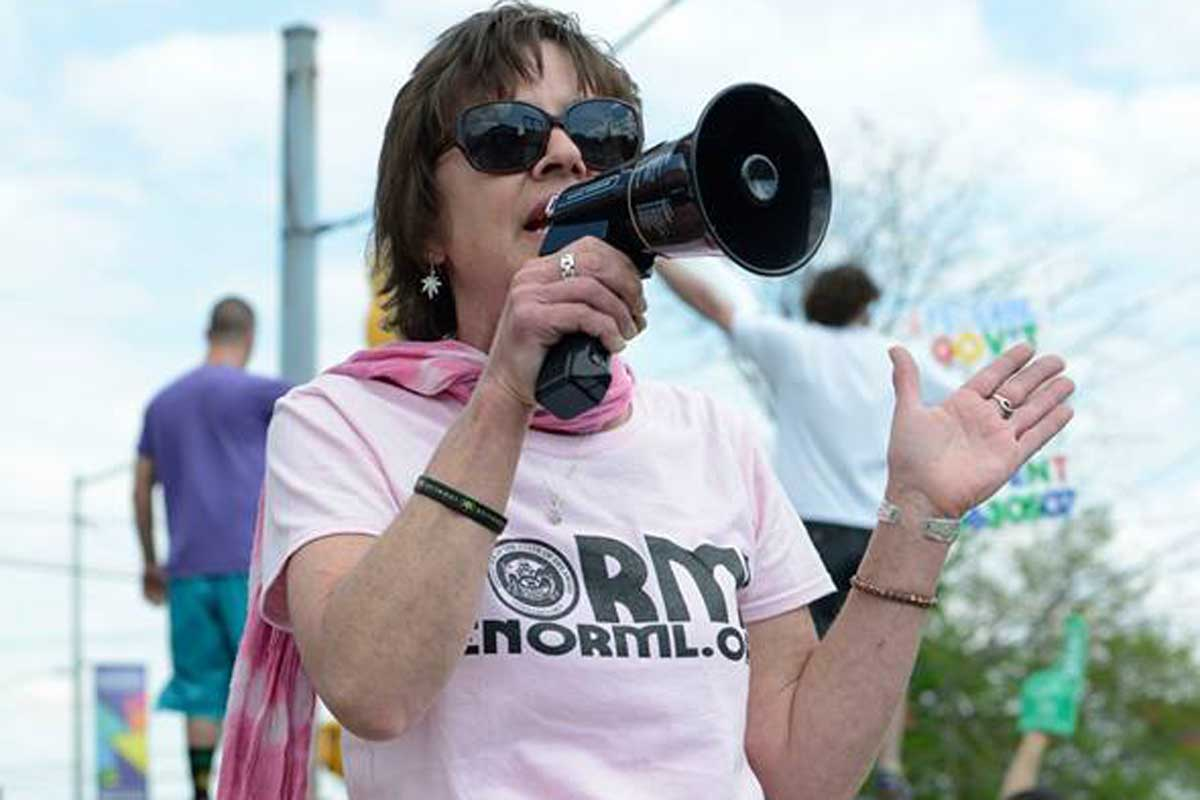 Cyn Ferguson, executive director of Delaware NORML, in an undated photograph.