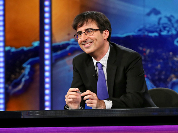 """John Oliver on """"Daily Show."""""""