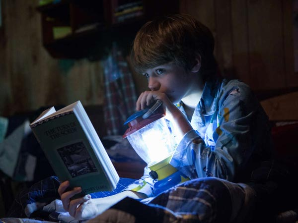 Ty Simpkins as &acute;Dalton&acute; in FilmDistrict&acute;s INSIDIOUS 2. (Photo credit: Matt Kennedy) <br />