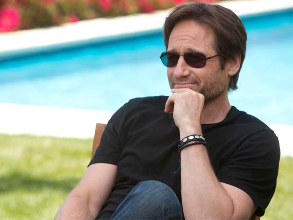David Duchovny on the ...