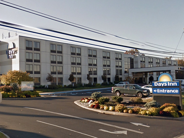 The Days Inn at 245 Easton Rd., where police said a suspected meth lab was found Friday.