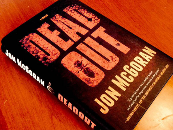 """Author Jon McGoran will read from and sign his new book """"Deadout"""" today. (Photo via Facebook)"""