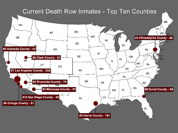 Source: Death Penalty Information Center, October 2013
