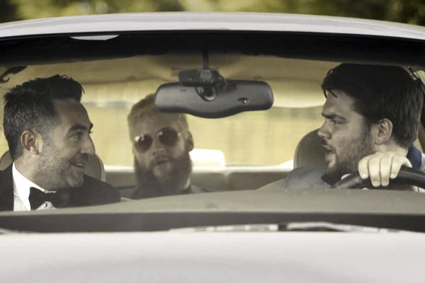 L to R: Tommy Pope, Tim Butterly, and John McKeever in the first episode of the ´Delco Proper´ digital series.