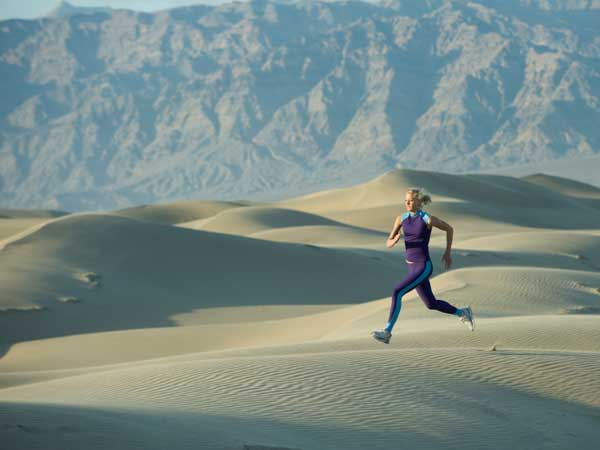 In the world of long-distance running there are the marathoners, ultra-marathoners and the desert runners who trek for days through drought, wind, heat and cold with supplies strapped to their backs.