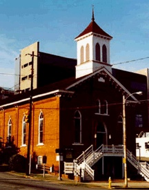 "Dexter Avenue Baptist Church, where King delivered his ""Love Your Enemies"" sermon."