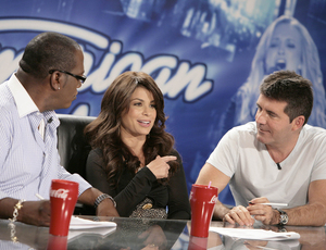MICHAEL BECKER / Fox How many hours of Randy Jackson (left), Paula Abdul, Simon Cowell - and all those off-key singers - can viewers take?