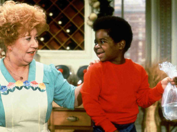 "Charlotte Rae and Gary Coleman in a scene from ""Diff´rent Strokes"""