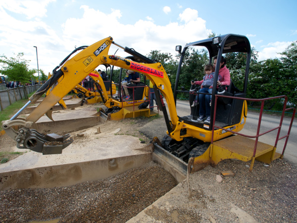 A scene from a Diggerland theme park in England. (diggerland.com)