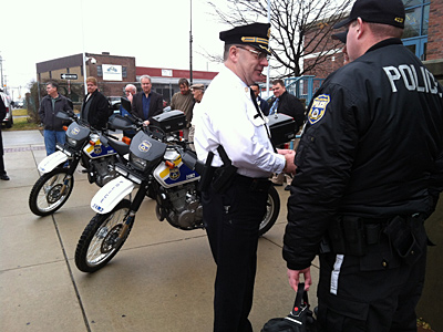 City Bikes Philadelphia Cops add dirt bikes to patrol