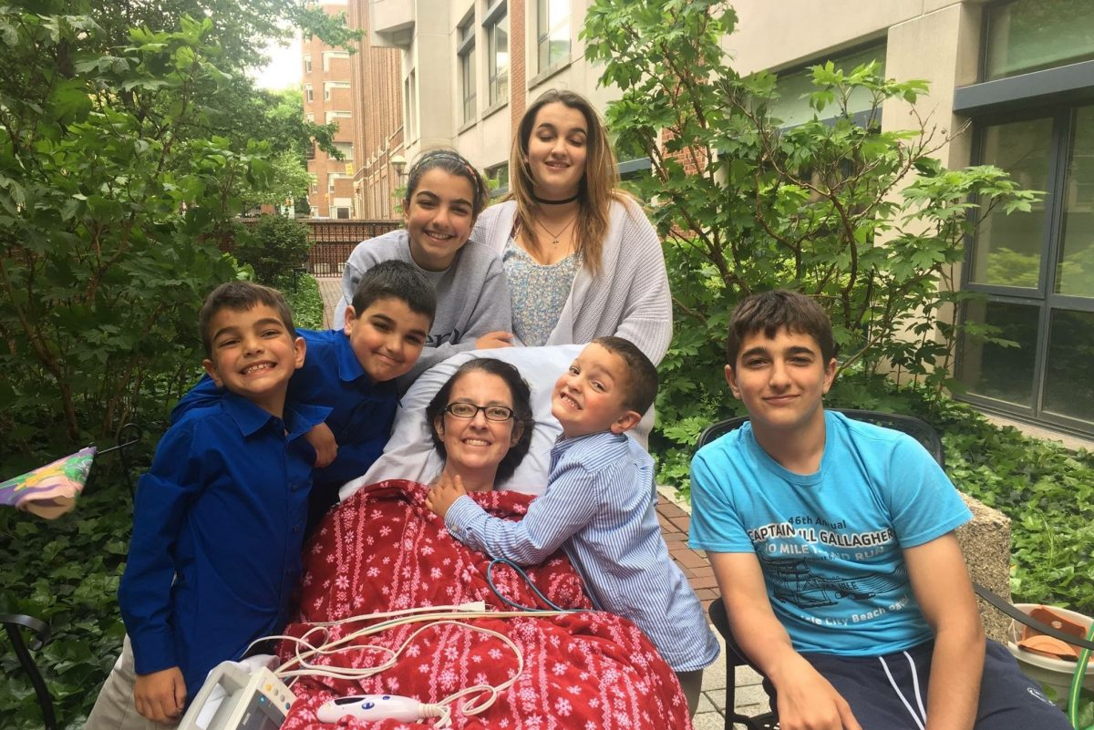 Dr. Amy Reed and  her six children celebrated their last  Mother's Day this past May, 10 days before she died