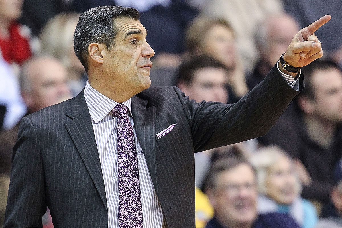Villanova head coach Jay Wright.