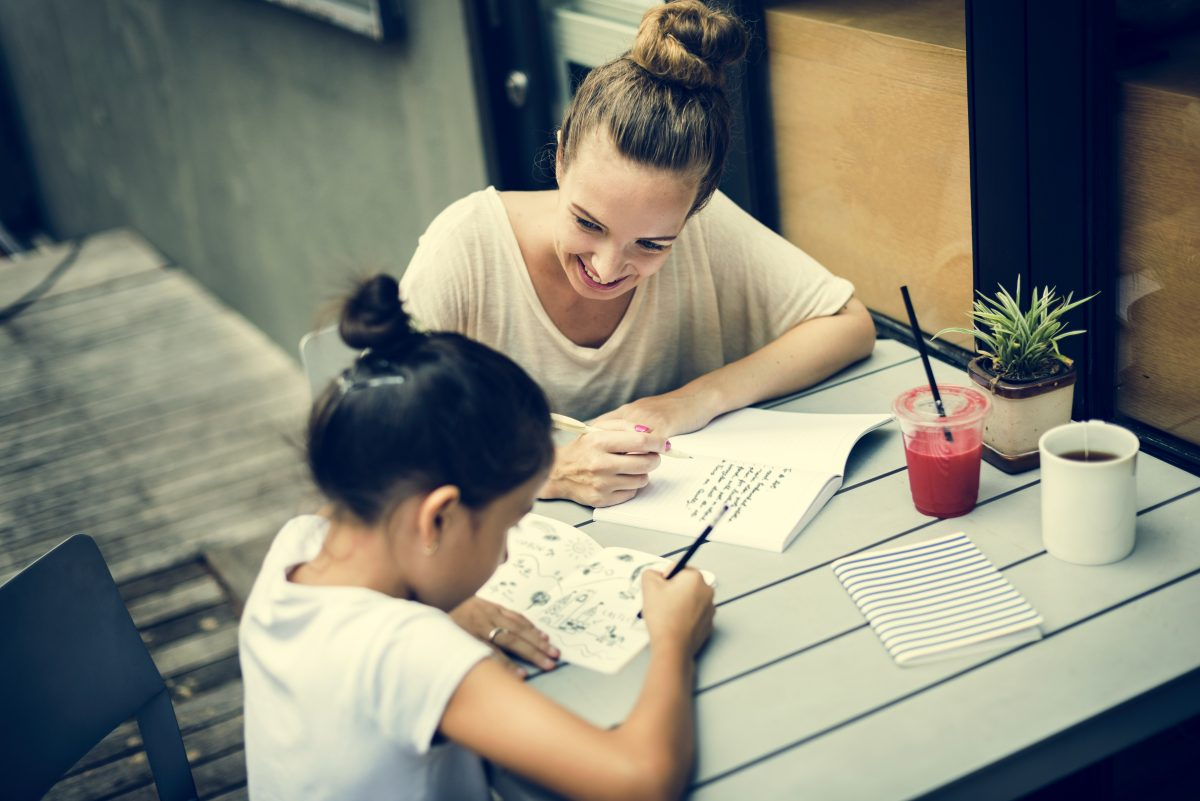 When creating a homework station, get your children's input. Kids instinctively know what works well for them.