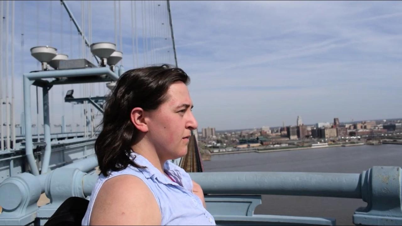"Mira Treatman will be performing ""Bridge to Somewhere,"" a dance-theater piece on the Ben Franklin Bridge."