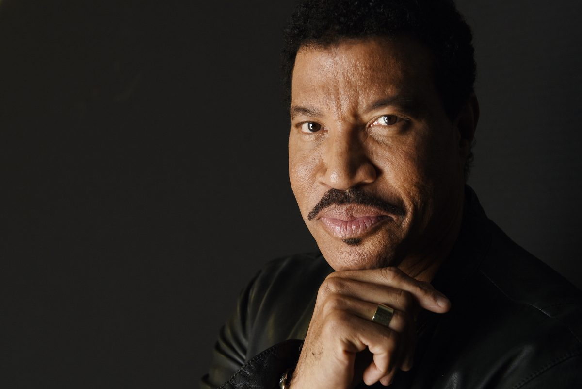 Singer-songwriter Lionel Richie.