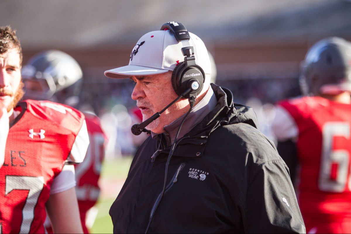 Mike Donnelly, the head coach at Muhlenberg for the last 20 years, was diagnosed with acute monocytic leukemia this spring and needs a bone marrow transplant. Photo courtesy of Muhlenberg University