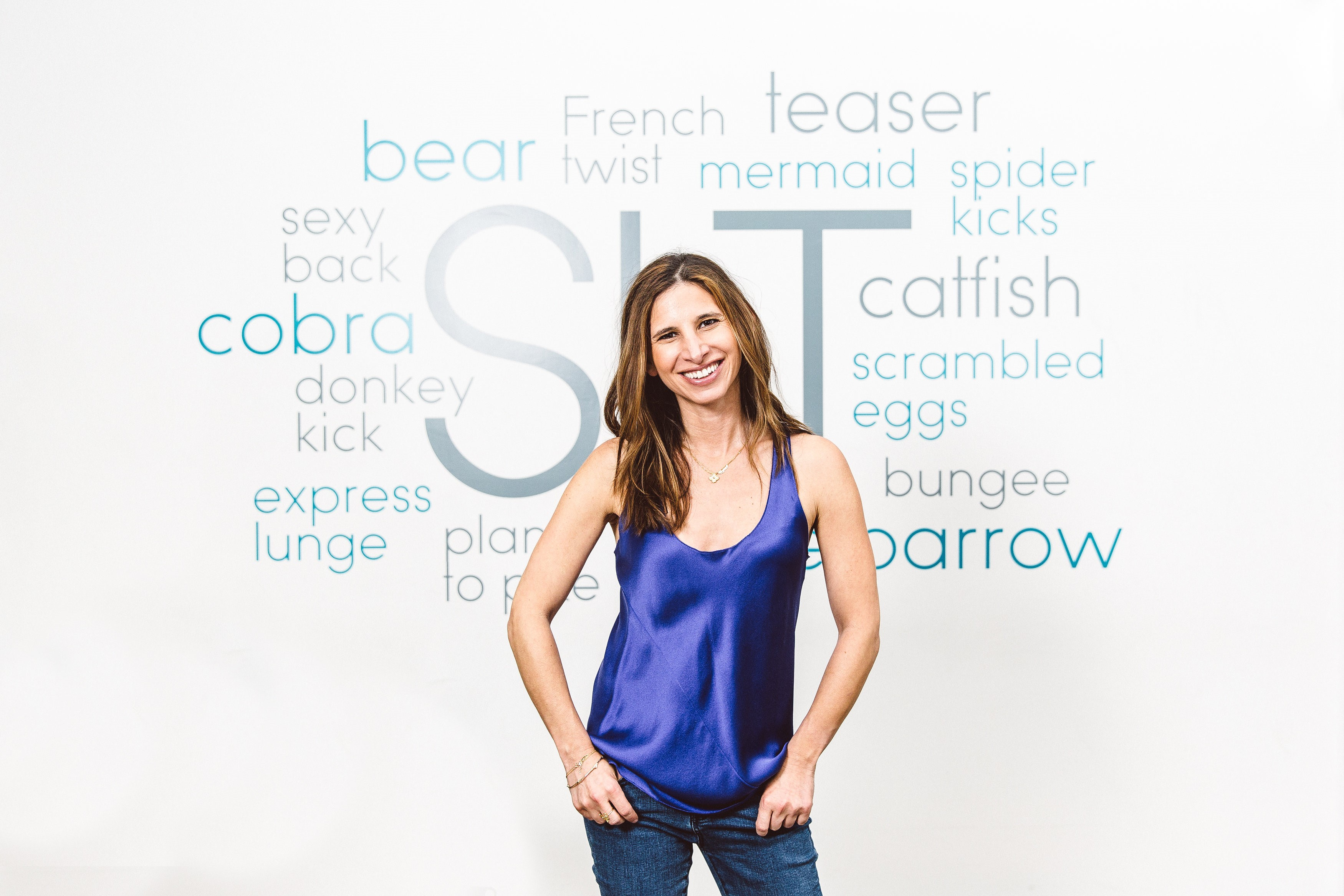 Amanda Freeman, founder of SLT-New York. Freeman was looking for a workout was fun and resulted in long, lean muscle tone.