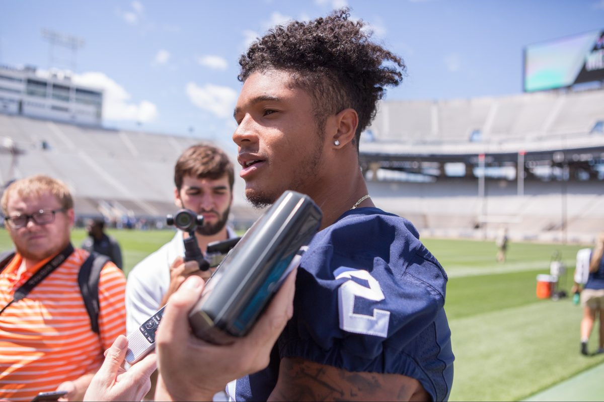 Marcus Allen is a heavy hitter at free safety for the Nittany Lions.