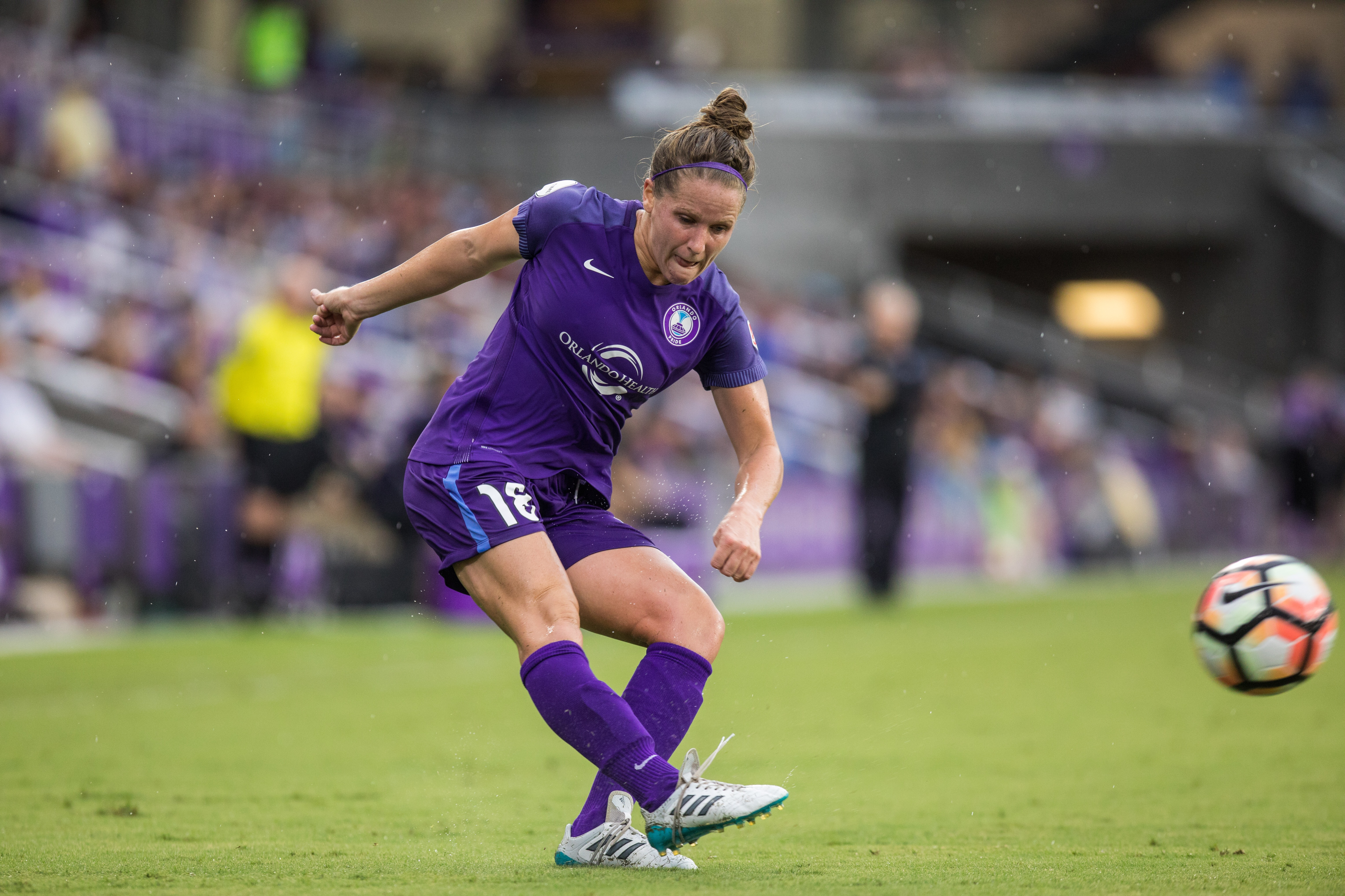 Glenside native Maddy Evans, a product of Abington High and Penn State, recently played her final game for the National Women´s Soccer League´s Orlando Pride.