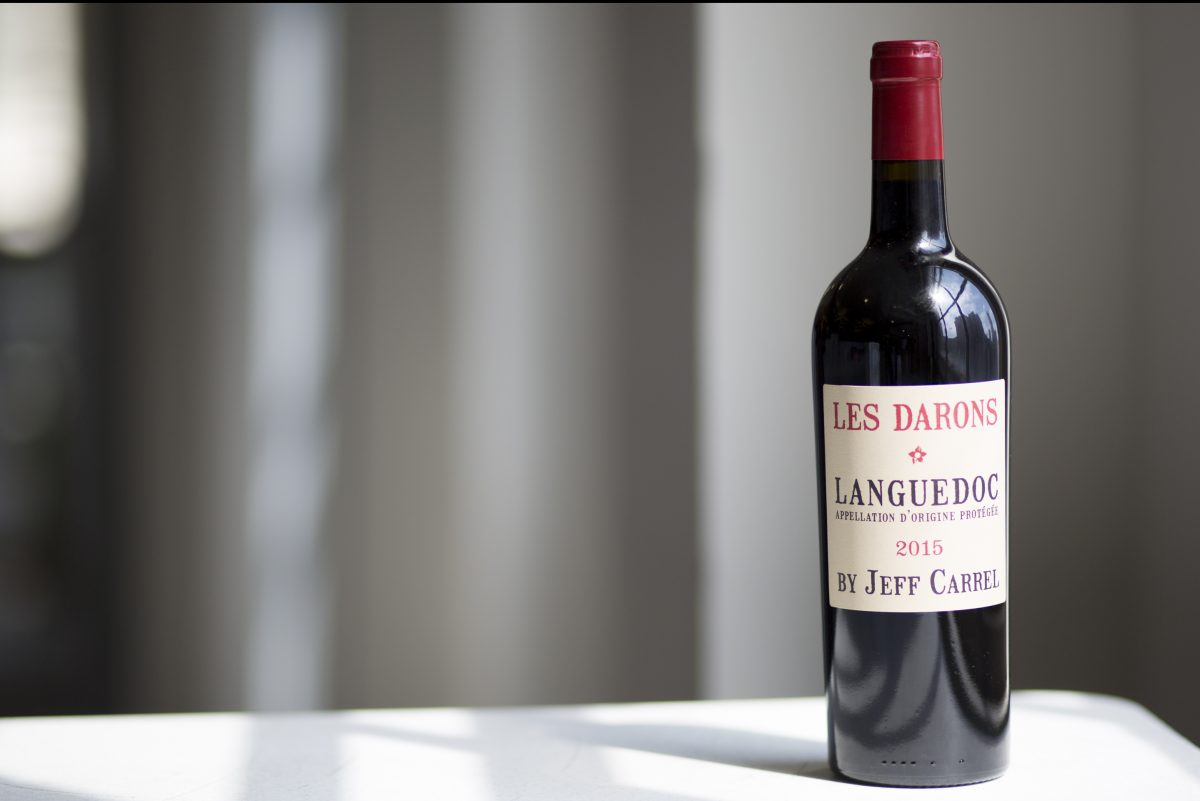 Les Darons 2015 by Jeff Carrel, a red blend from Languedoc.