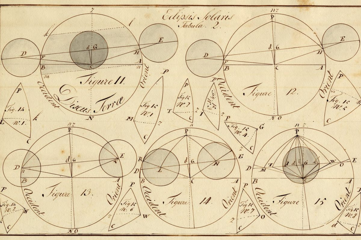 In 1778, Allentown astronomer Daniel Freehauff calculated the duration of an eclipse in which the moon obscured 95 percent of the sun´s surface.