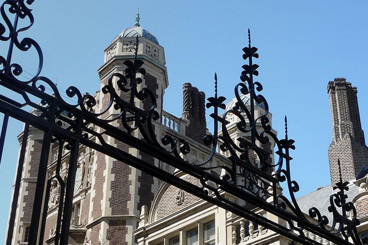 Quadrangle gate at University of Pennsylvania.