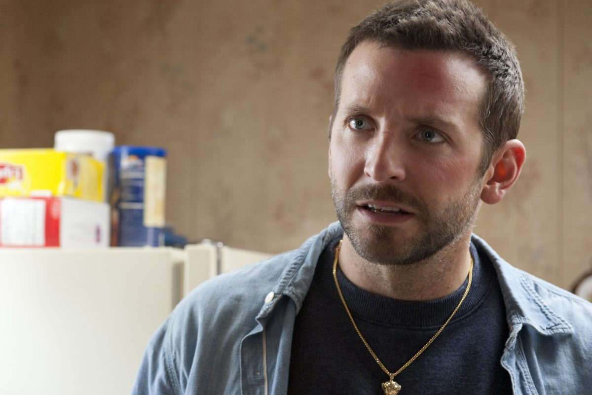 Bradley Cooper appears in The Silver Linings Playbook.