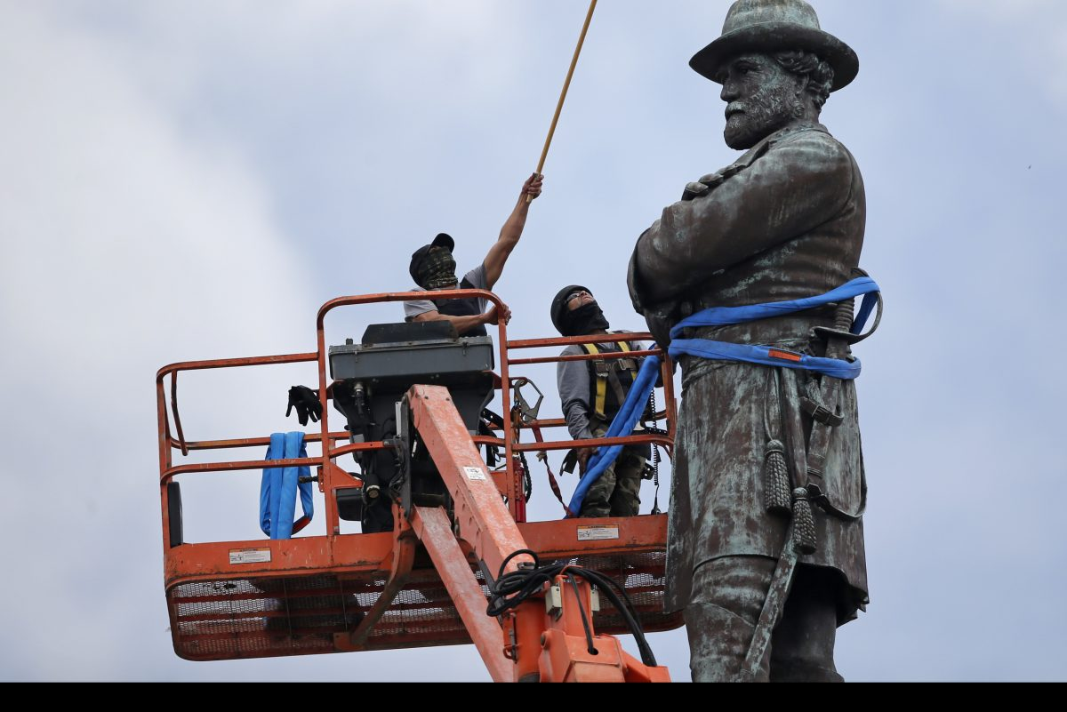 In May, New Orleans removed a statue of Confederate Gen. Robert E. Lee.