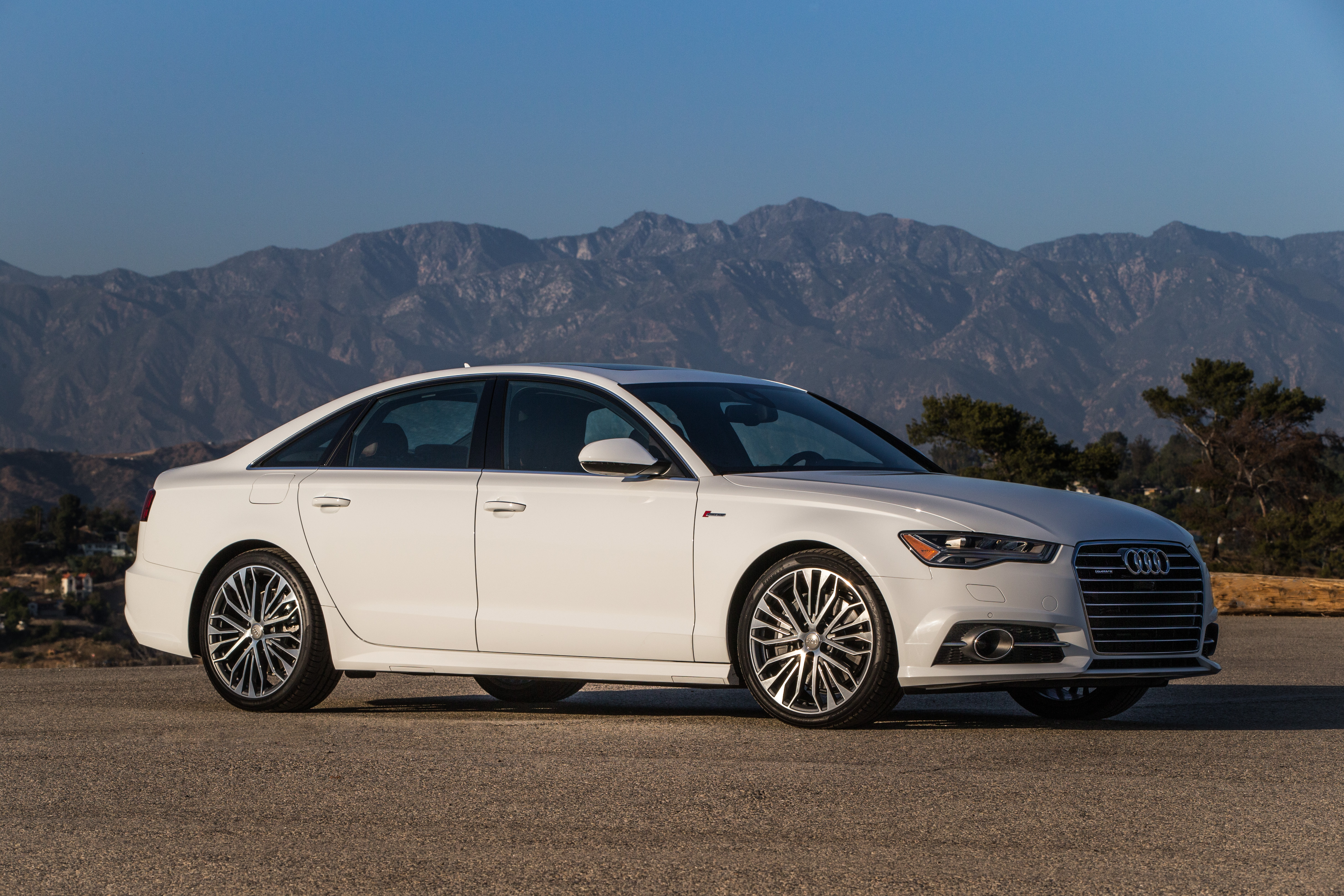 The 2012 to 2015 Audi A6 sedans were among the vehicles with zero fatalities in a recent IIHS report. A 2016 is shown here.