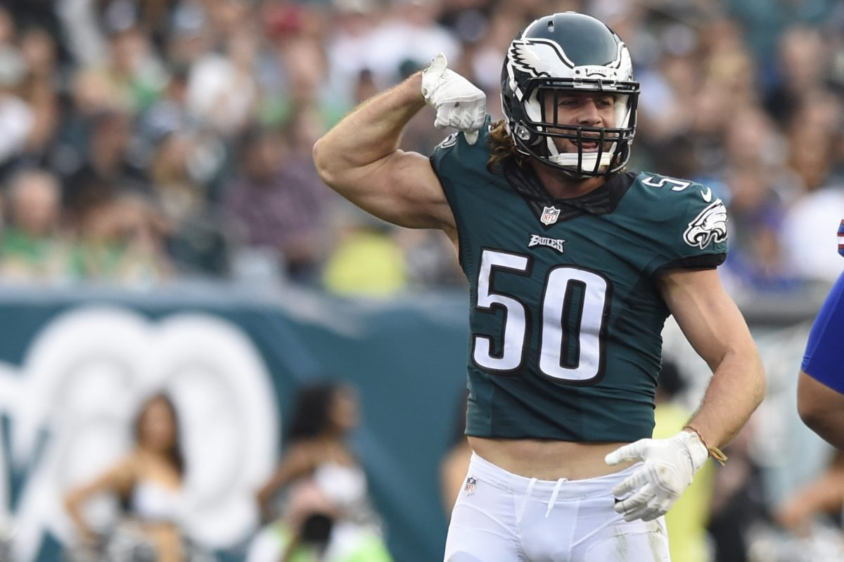 One of Kiko Alonso few fond memories in Philadelphia came when he flexed after tackling LeSean McCoy in December 2015. He will be back in Philadelphia for a joint practice with the Dolphins this week.