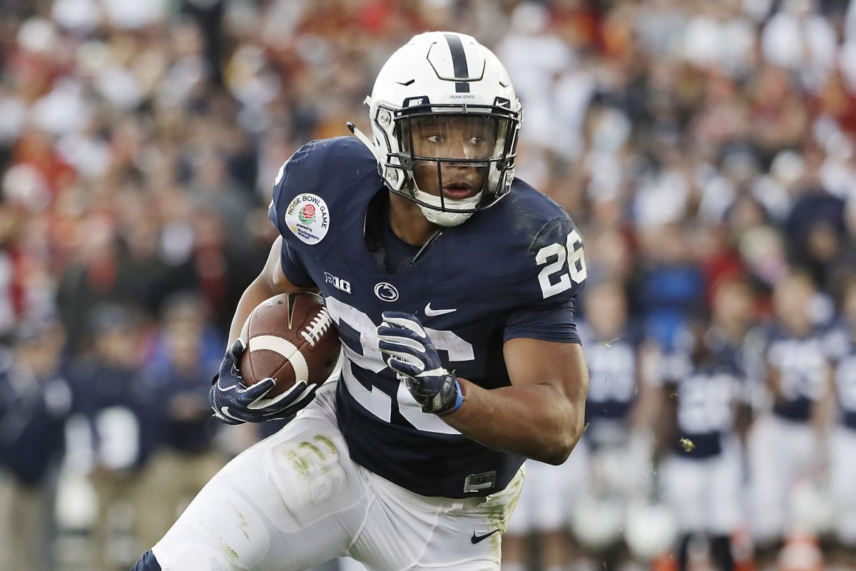 Saquon Barkley and the rest of the Nittany Lions are ranked sixth in the country by the AP.