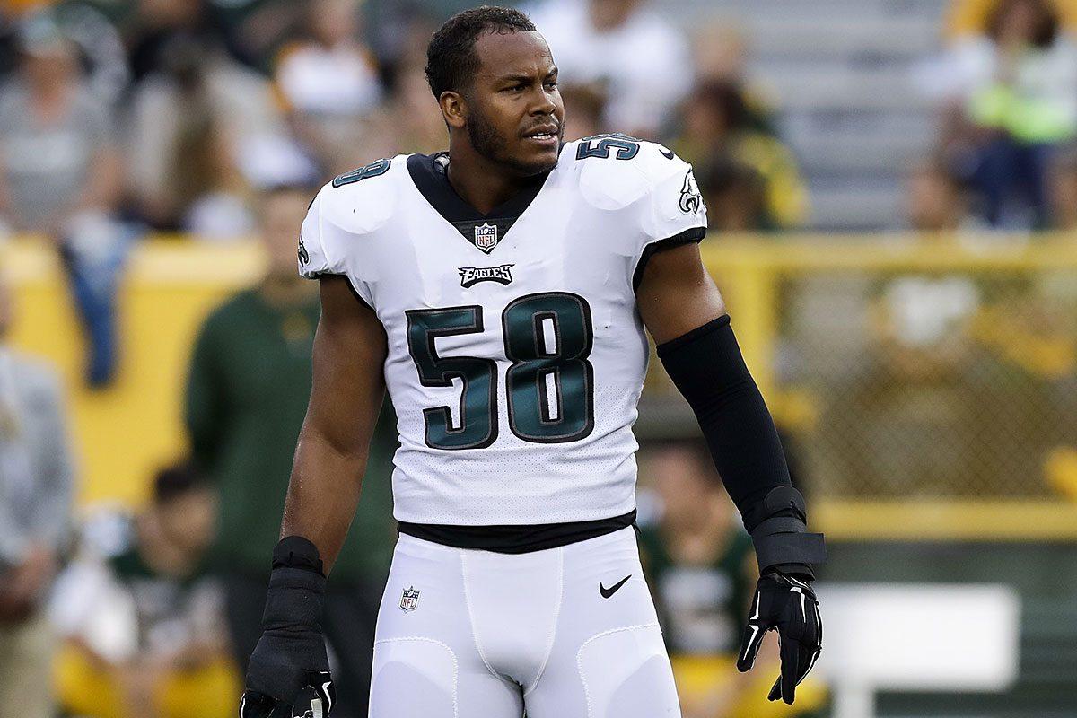 Eagles linebacker Jordan Hicks.