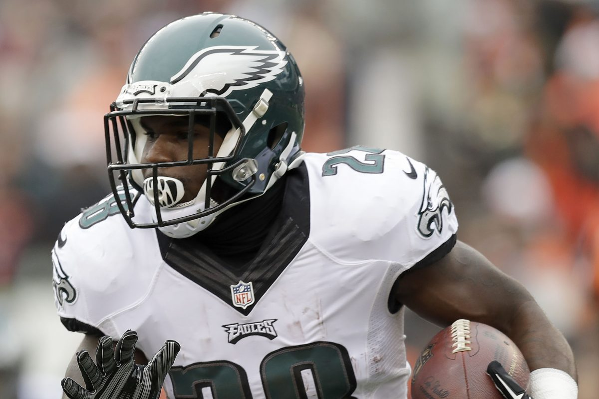Eagles running back Wendell Smallwood, who has dealt with a number of injuries, says, 'I definitely think it's a big year for me.'