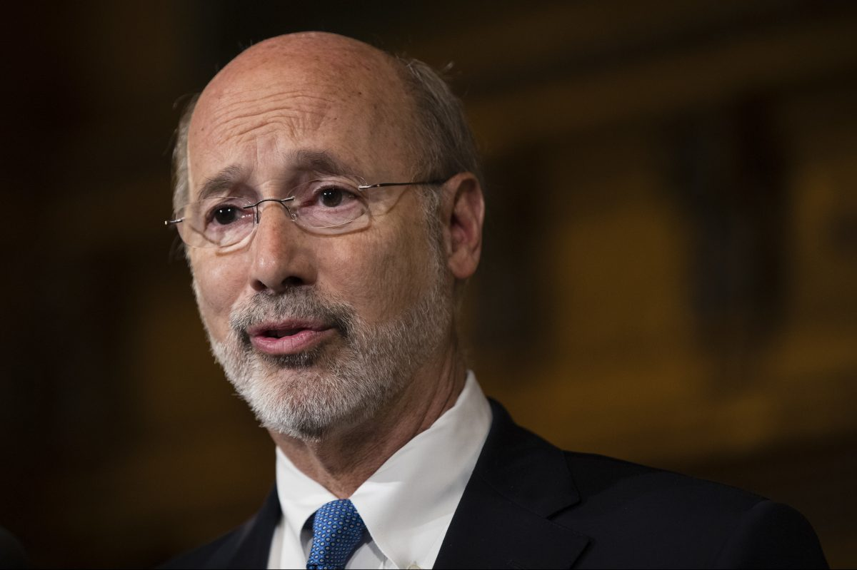 Gov. Wolf said progress must be made.