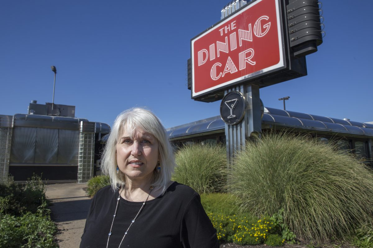 Nancy Morozin, owner of the Dining Car Diner on Frankford Avenue.