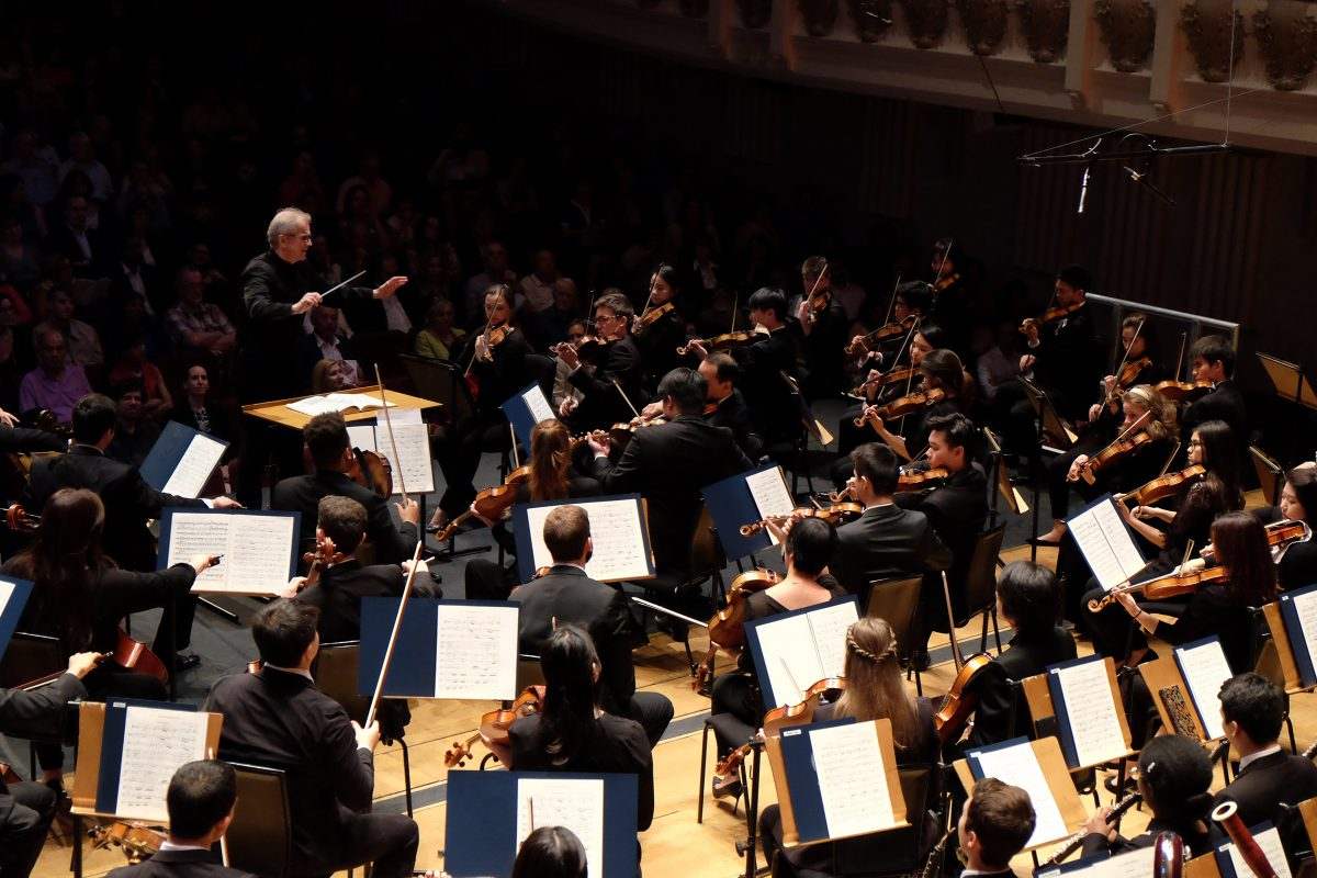The Curtis Symphony Orchestra, with Osmo Vanska conducting, performs at Cadogan Hall, in London, England, on Friday, May 26, 2017. (Photo: Chris Christodoulou).