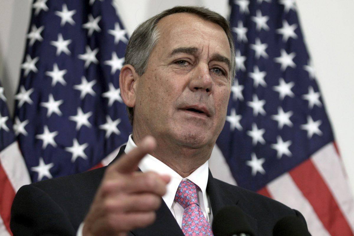 Former Speaker of the House John Boehner was critical of President Trump's performance in office.