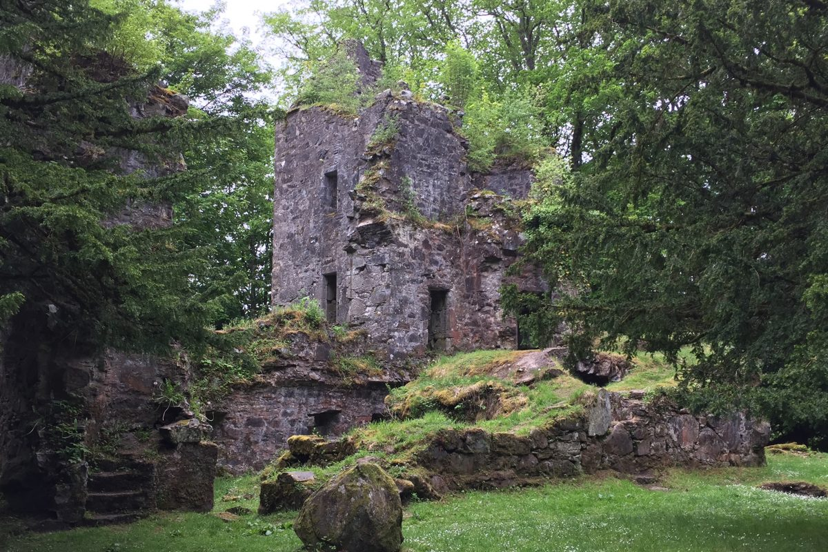 Finlarig Castle, Killin, Scotland.