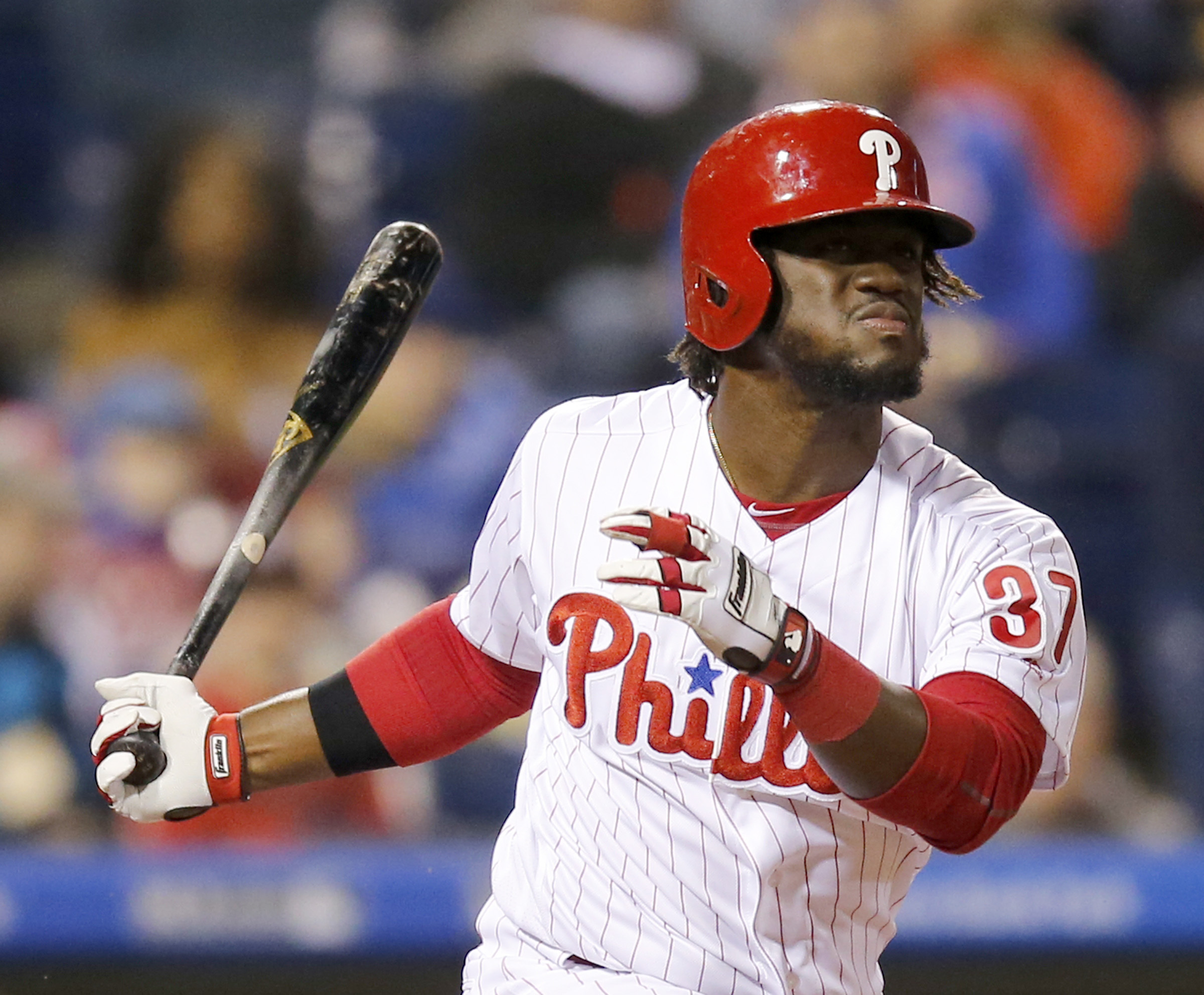 Odubel Herrera is expected to return from a hamstring injury when the Phillies open a series Monday against the New York Mets at CitiField. YONG KIM / Staff Photographer.