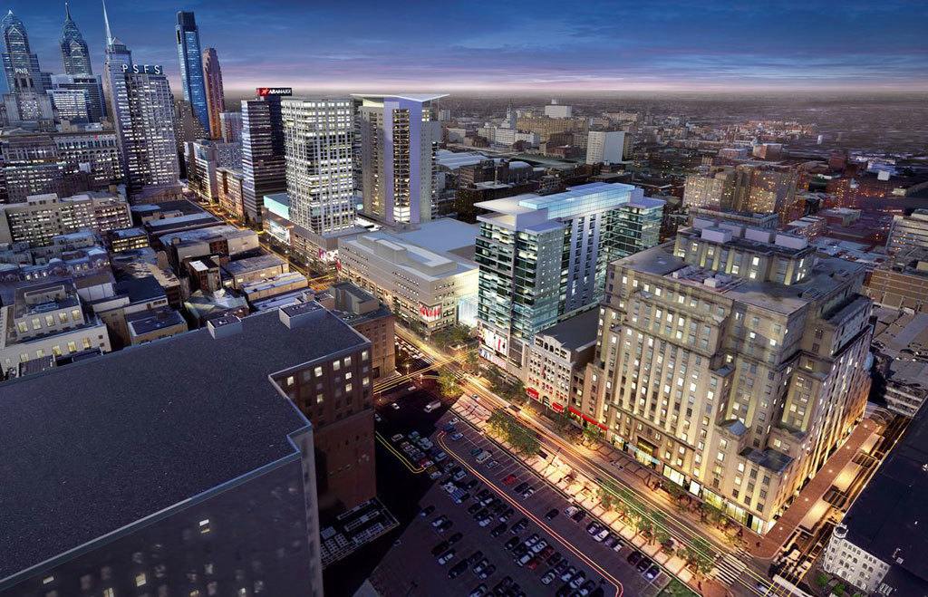 Property Development In Philly : Home is increasingly where the shopping cart as big