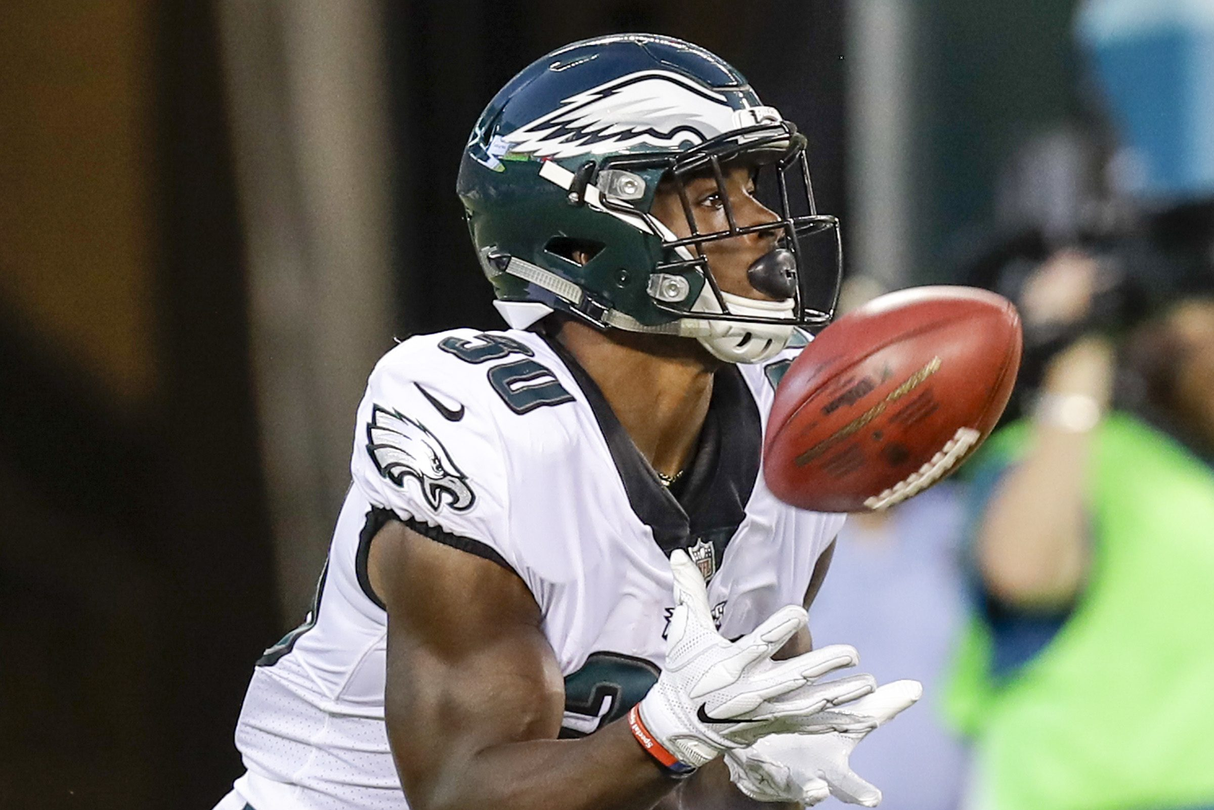 Eagles running back Corey Clement made the 53-man roster. Now time will tell if he stays.