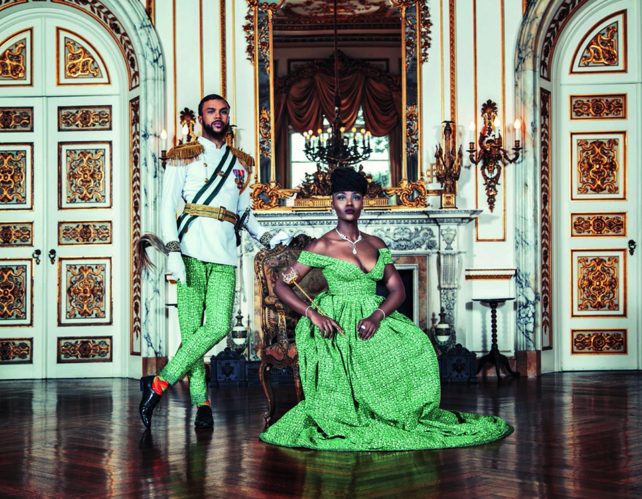Singer Jidenna photographed by Patrick Amara for a 2015 All Things Ankara Ball Campaign
