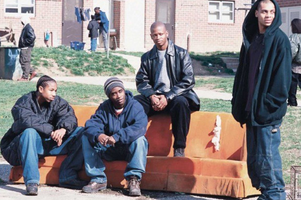 "HBO's fictional series ""The Wire"" depicted drug dealers on the streets of Baltimore."