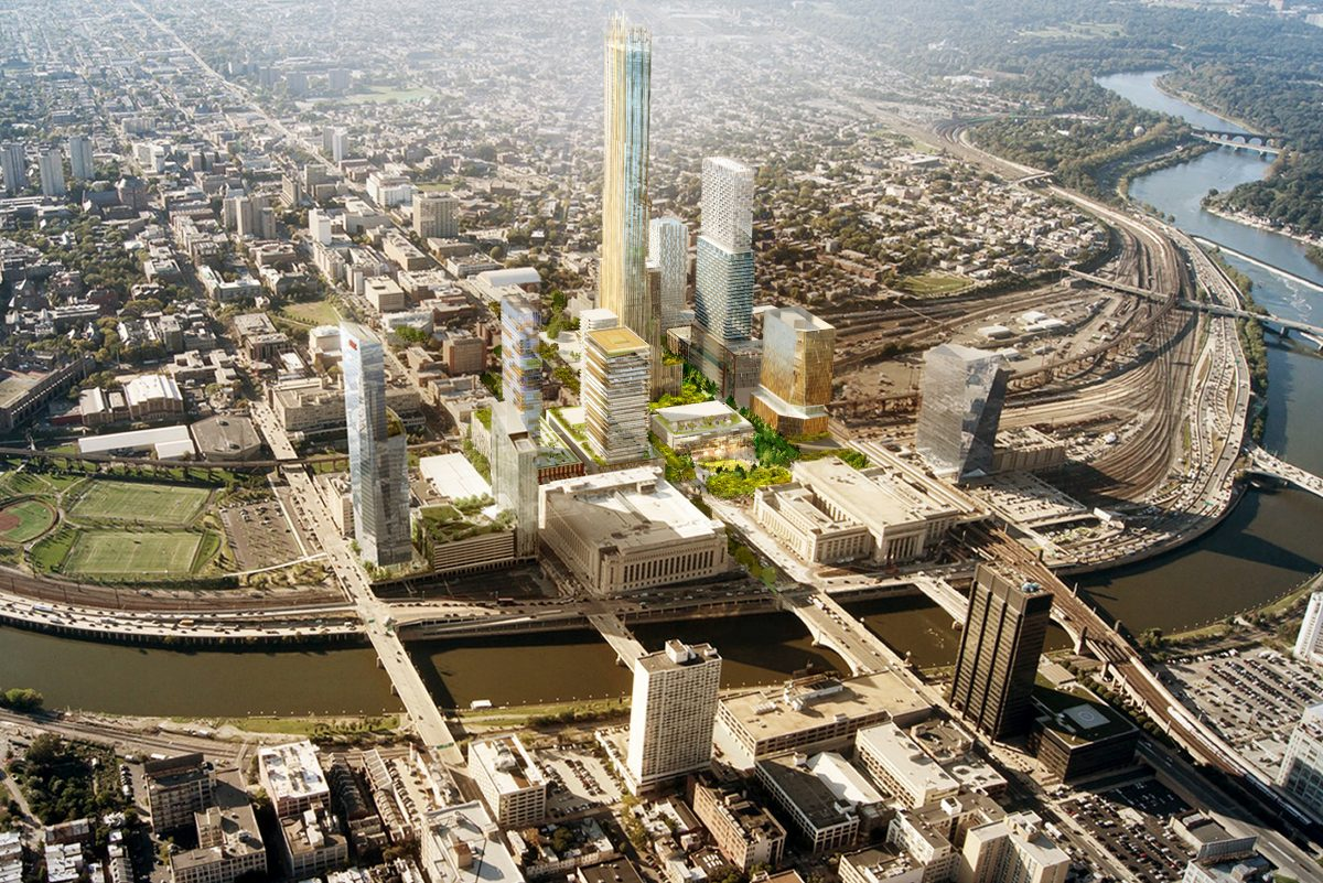 The Schuylkill Yards Innovation District was envisioned as center for expanding tech companies, but could be an attractive home to Amazon.