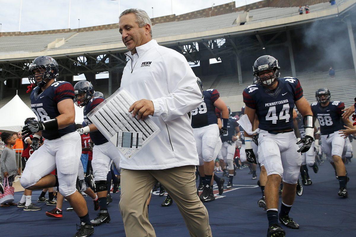 Coach Ray Priore and the Penn Quakers have won a share of the last two Ivy League championships.