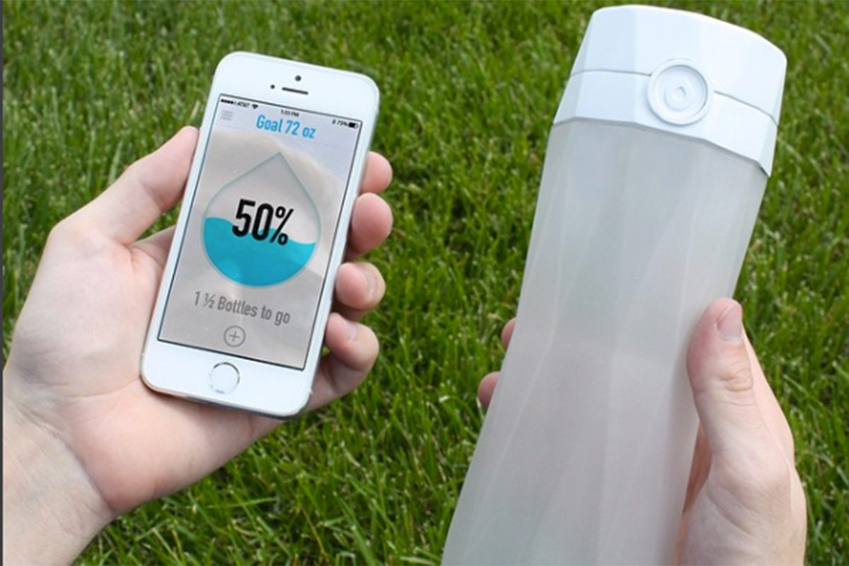 """The trial will use """"smart"""" water bottles made by Hidrate Spark."""