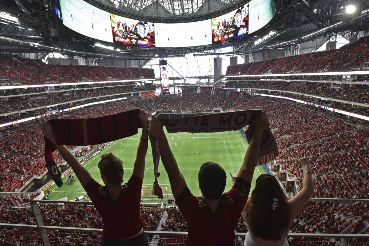 Atlanta United drew over 150,000 fans to its first three games this week at the new $1.5 billion Mercedes-Benz stadium