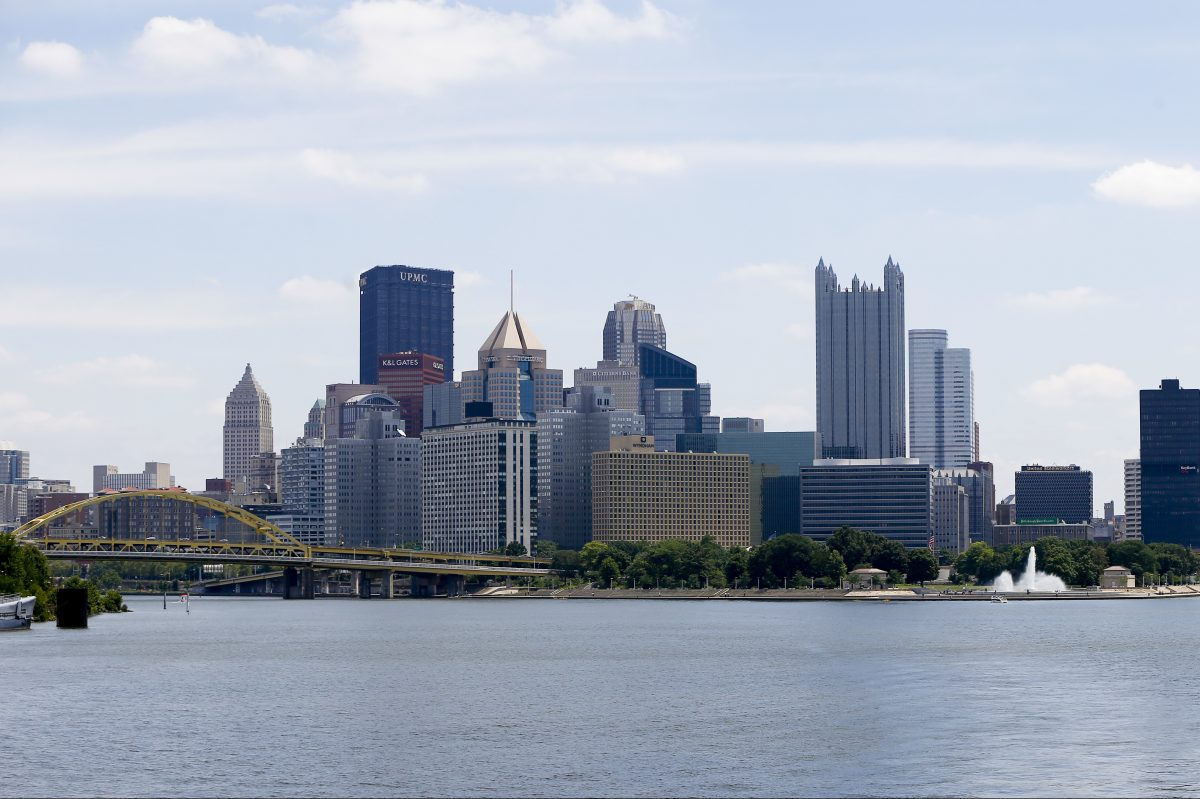 Pittsburgh ranked #1 on appeal to millennials; Philadelphia was 56 out of 75 cities.