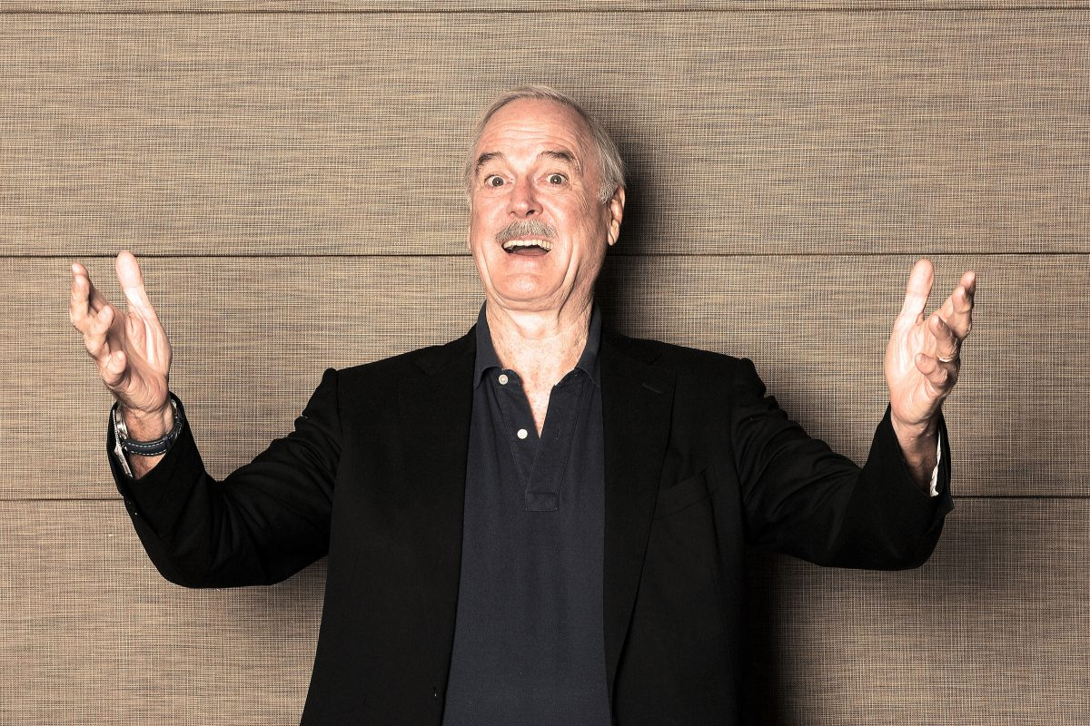 Comedian John Cleese will appear Friday at the Tower Theater.
